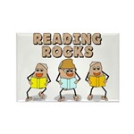 Reading Rocks Rectangle Magnet (100 pack)