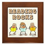 Reading Rocks Framed Tile