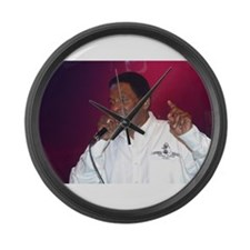 Funny Luciano Large Wall Clock