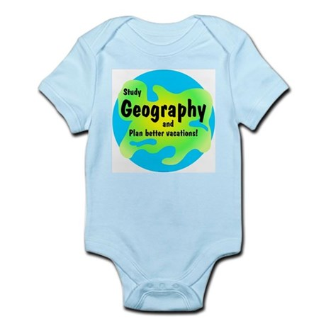 Geography Infant Bodysuit