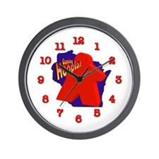 Gaming Hoopla Wall Clock