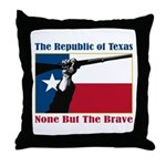 Republic of Texas Throw Pillow