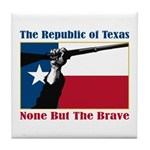 Republic of Texas Tile Coaster