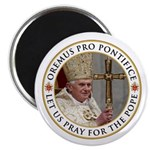 "Pray For Pope Benedict XVI 2.25"" Magnet (100"