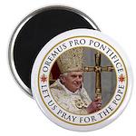 "Pray For Pope Benedict XVI 2.25"" Magnet (100"