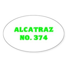 Alcatraz No. 374 Decal