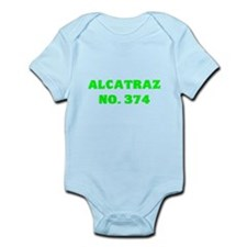 Alcatraz No. 374 Infant Bodysuit