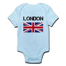 London Union Jack Infant Bodysuit