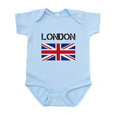 London Union Jack Onesie