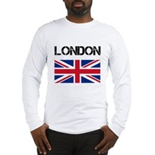 London Union Jack Long Sleeve T-Shirt