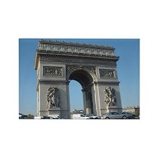 Arc de Triomphe Rectangle Magnet