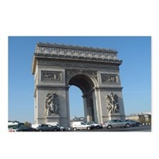Arc de Triomphe Postcards (Package of 8)