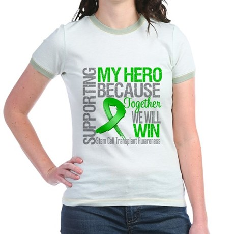 Supporting SCT Hero Jr. Ringer T-Shirt