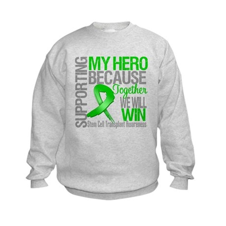 Supporting SCT Hero Kids Sweatshirt