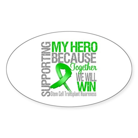 Supporting SCT Hero Sticker (Oval)