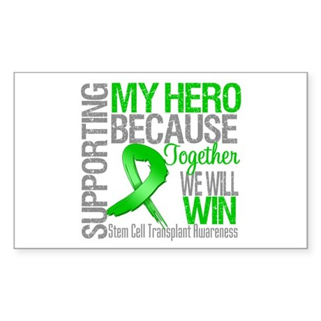 Supporting SCT Hero Sticker (Rectangle 10 pk)