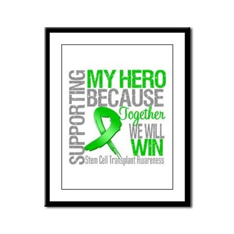 Supporting SCT Hero Framed Panel Print