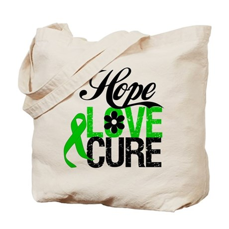 SCT Hope Love Cure Tote Bag