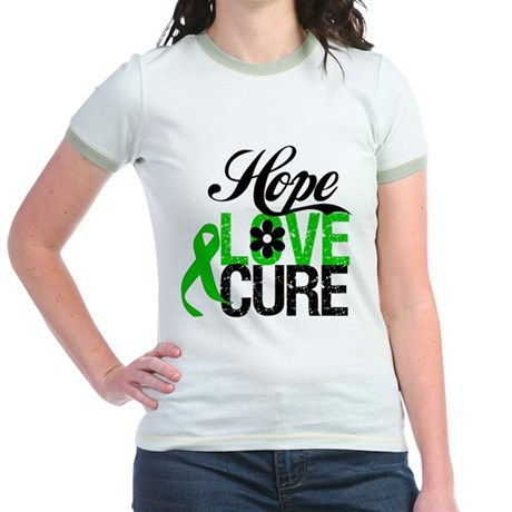 SCT Hope Love Cure Jr. Ringer T-Shirt