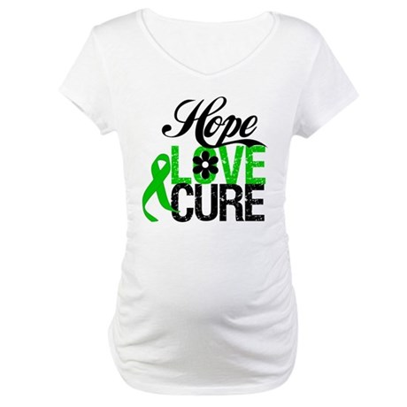 SCT Hope Love Cure Maternity T-Shirt