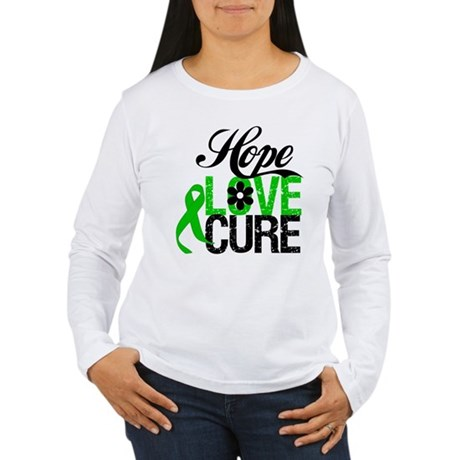 SCT Hope Love Cure Women's Long Sleeve T-Shirt