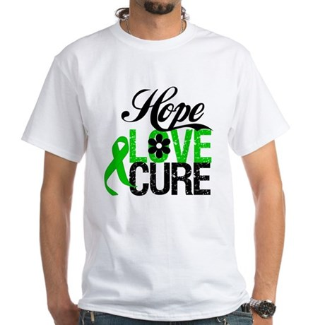 SCT Hope Love Cure White T-Shirt