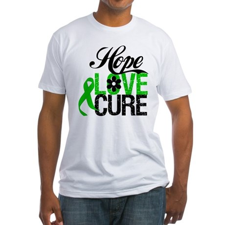 SCT Hope Love Cure Fitted T-Shirt