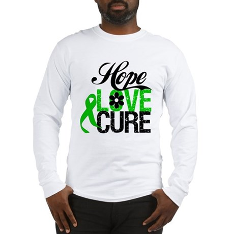 SCT Hope Love Cure Long Sleeve T-Shirt