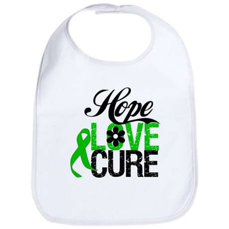 SCT Hope Love Cure Bib