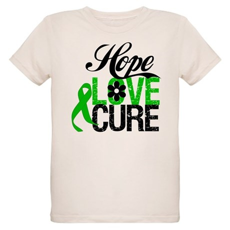 SCT Hope Love Cure Organic Kids T-Shirt