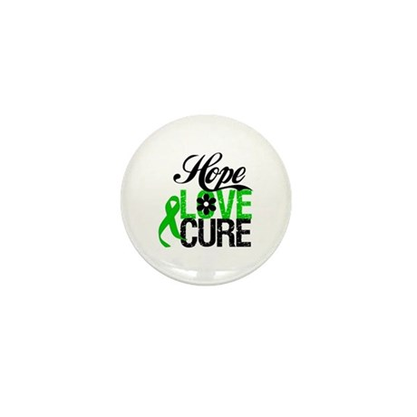 SCT Hope Love Cure Mini Button (10 pack)