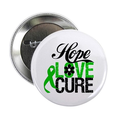 "SCT Hope Love Cure 2.25"" Button"