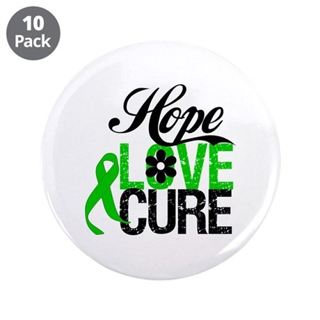 "SCT Hope Love Cure 3.5"" Button (10 pack)"