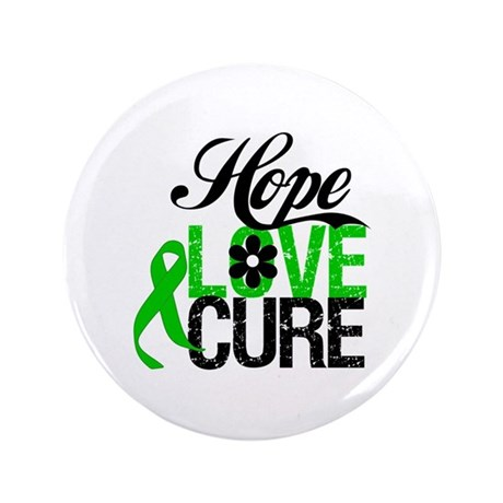 "SCT Hope Love Cure 3.5"" Button (100 pack)"