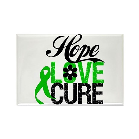 SCT Hope Love Cure Rectangle Magnet (100 pack)