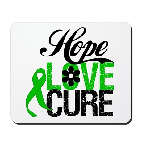 SCT Hope Love Cure Mousepad