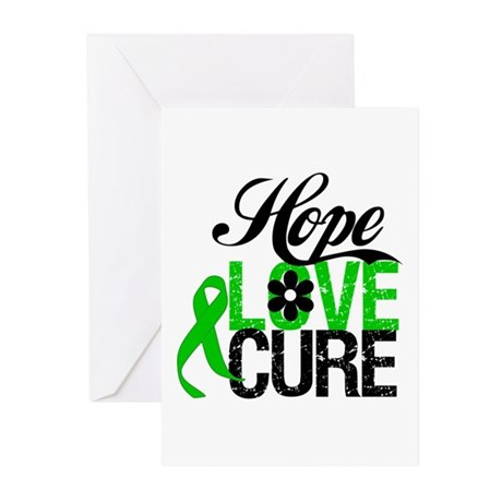 SCT Hope Love Cure Greeting Cards (Pk of 10)