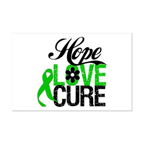 SCT Hope Love Cure Mini Poster Print