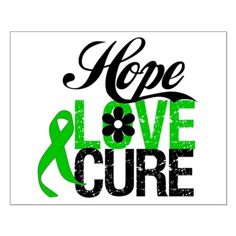 SCT Hope Love Cure Small Poster