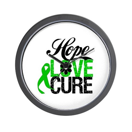 SCT Hope Love Cure Wall Clock