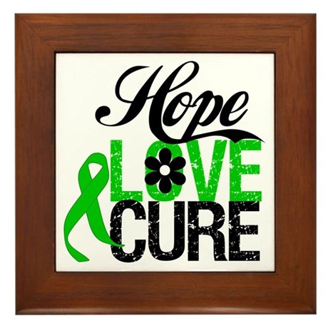 SCT Hope Love Cure Framed Tile