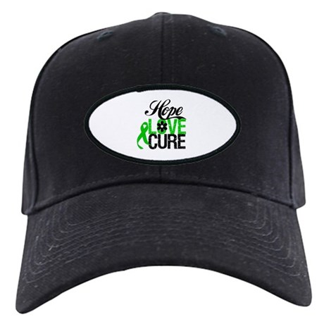 SCT Hope Love Cure Black Cap