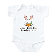 Some Bunny In Colorado Loves Me Infant Bodysuit