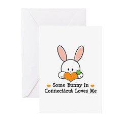 Some Bunny In Connecticut Greeting Cards (Pk of 10