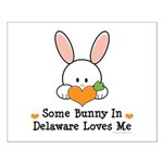 Some Bunny In Delaware Loves Me Small Poster