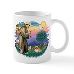 St.Francis #2 / Pekingese #1 Mug