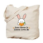 Some Bunny In Illinois Loves Me Tote Bag