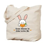Some Bunny In Iowa Loves Me Tote Bag