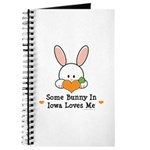 Some Bunny In Iowa Loves Me Journal