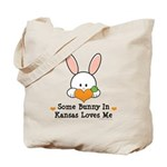 Some Bunny In Kansas Loves Me Tote Bag